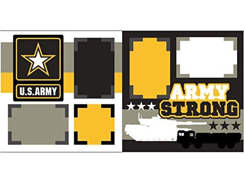 """Army"" Scrapbook Kit"