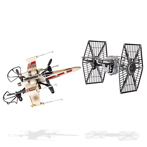 Air Hogs Star Wars X Wing Vs Tie Fighter Drone Battle