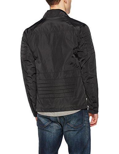 Jones Jack Biker Jacket Giacca Jcoartis amp; black Uomo Nero 4w4trq5