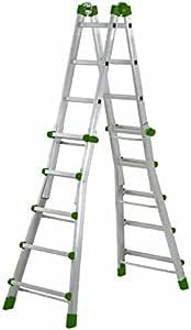 Codiven. S.L. - Escalera Multiuso Aluminio 10+10 Peldaños Al-040 Codiven: Amazon.es: Bricolaje y herramientas