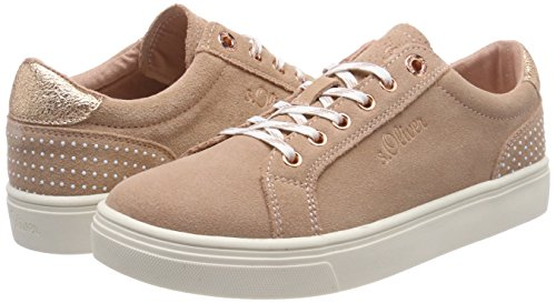 top Women's Sneakers 23620 Rose S oliver old Pink Low HwqAFvRI