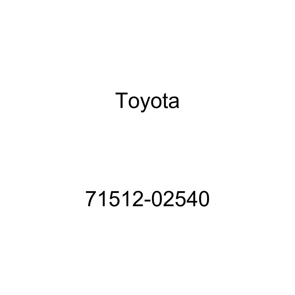 TOYOTA Genuine 71512-02540 Seat Cushion Pad