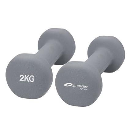 Spokey Shape - Juego de pesas de vinilo grau 2kg / 84310: Amazon ...