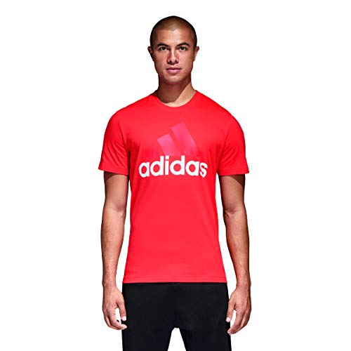 Multicolore Linear rosso T Tee Uomo shirt Adidas Ess fCnqOO