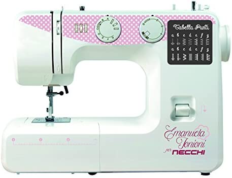 Necchi ZAKKA120 - Máquina de coser (Rosa, Blanco, Máquina de coser ...