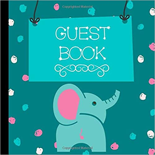 Teal Elephant Baby Shower Guest Book Includes Gift Tracker and Picture Pages to  Create a Lasting Memory Keepsake You Can Treasure Forever Guest Book