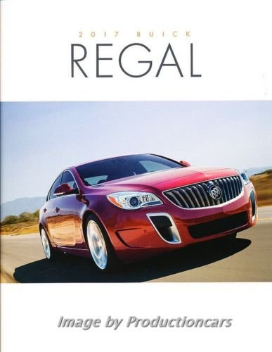 2017 Buick Regal 34-page Deluxe Original Car Sales Brochure Catalog