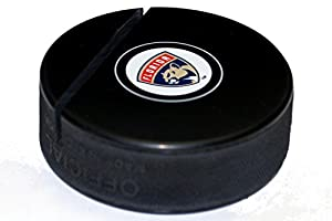 Florida Panthers Hockey Puck Business Card Holder