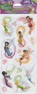 (Disney Fairies Glitter Scrapbook Stickers (SSP1070))