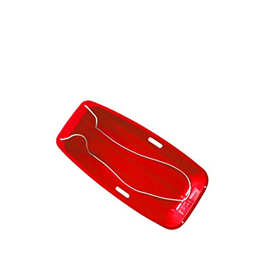 - Superio Long Kids Snow Sled (Red)