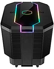 Cooler Master MA620M CPU Air Cooler, Dual Tower Cooler, 6 Heat Pipes, 1 x 120 mm SF120R Fan, Addressble RGB Lighting with Controller, Easy Mounting Solution, Intel/AMD (AM4) Compatible