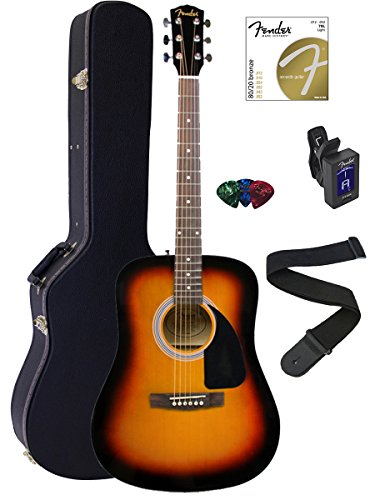 fender-fa-100-dreadnought-acoustic-guitar-bundle-with-hard-case-stand-tuner-strap-picks-and-strings-