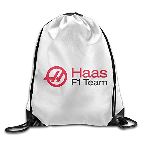 YesYouGO Haas F Team Racing Logo Unisex Drawstring Backpacks/Bags