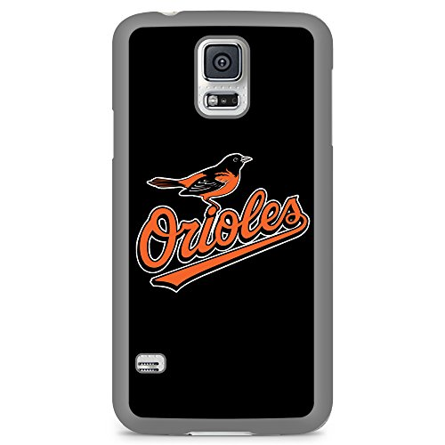 - Samsung Galaxy S5 TPU Flexible Phone Skin Case Cover Baltimore Orioles Black