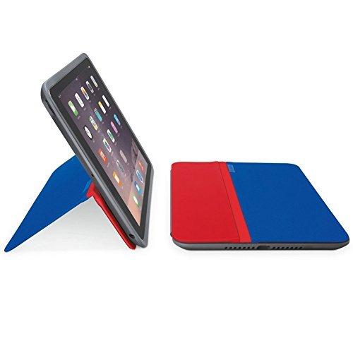 Logitech AnyAngle Folio Case for iPad Mini (Blue/Red) 939-001383
