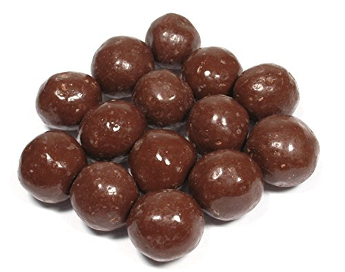 Weaver Chocolates Malt Balls Milk Chocolate Covered Large (1 LB.)