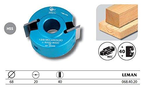 Leman–Werkzeuggürtelset mit Profiler Durchmesser 68mm hoch. 40mm–068.40.20