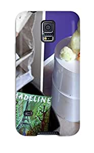 DeaneRipman Case Cover For Galaxy S5 - Retailer Packaging Kid8217s Closet With Storage Bins Books And Toys Protective Case