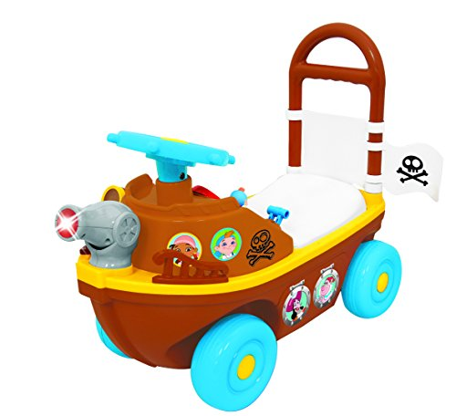 Kiddieland Toys Limited Disney Jake & The Pirates Activity Ship Ride On