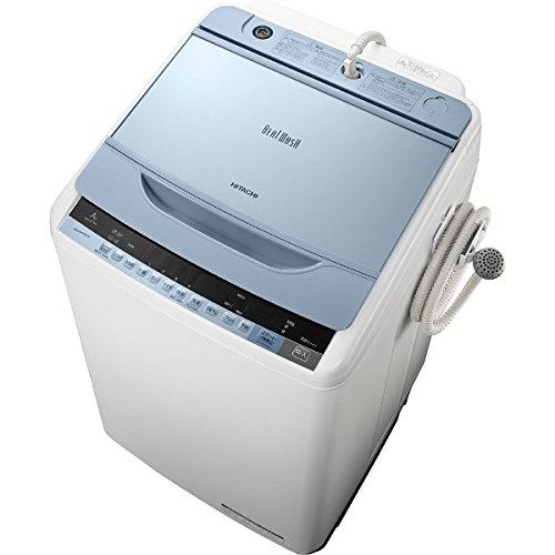 日立 7.0kg 全自動洗濯機 ブルーHITACHI ビートウォッシュ BW-V70A-A