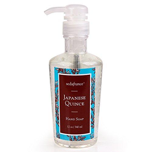 (Seda France Classic Toile Liquid Hand Soap, Japanese Quince, 12 Ounce)