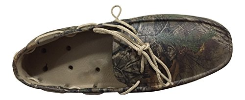 Tucket Footwear Mens Giller Boat Shoes Realtree Camouflage
