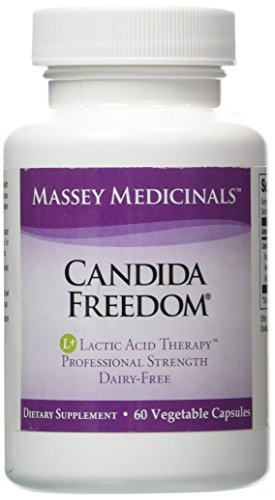 Massey Medicinals Candida Freedom Capsules product image