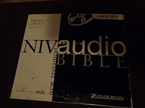 NIV Audio Bible New Testament - Voice Only - Wal-Mart (Spa Wal Mart)