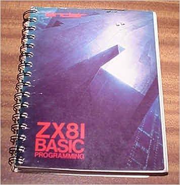 Sinclair ZX81 Basic Programming