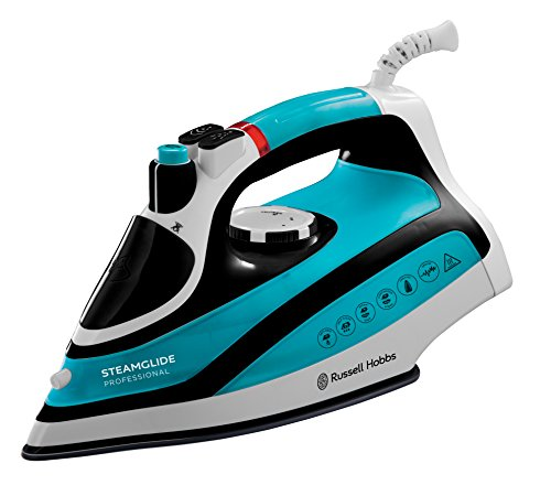Russell-Hobbs-21370-Steam-glide-Professional-Steam-Iron-2600-W-BlueBlack