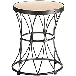Koehler 10017616 16.25 inch Metal Frame Accent Stool