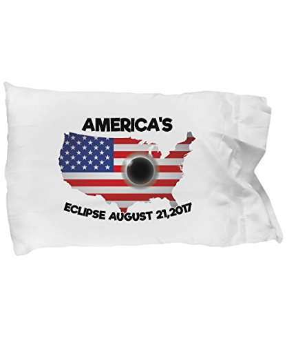 Pillow Covers Design AMERICA'S ECLIPSE AUGUST 21 2017 total solar eclipse Gift Pillow Cover Ideas by De Look