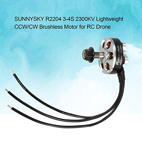 Wikiwand SUNNYSKY R2204 3-4S 2300KV Lightweight CCW/CW Brushless Motor for RC Drone by Wikiwand (Image #4)