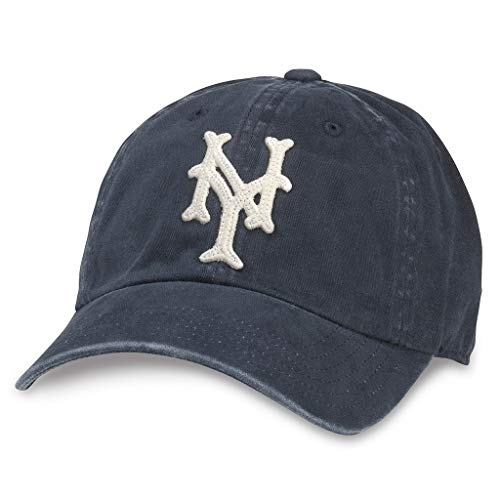 American Needle Archive Negro League New York Cubans Baseball Hat (44747A-NYC-NAVY) American Needle Mesh Cap