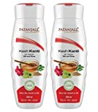 Patanjali Ayurved Limited Kesh Kanti Hair Clnsr Silk and Shine, 200ml (Pack of 2)