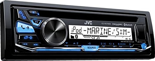 JVC KDR97MBS iPod & Android CD Receiver with Bluetooth