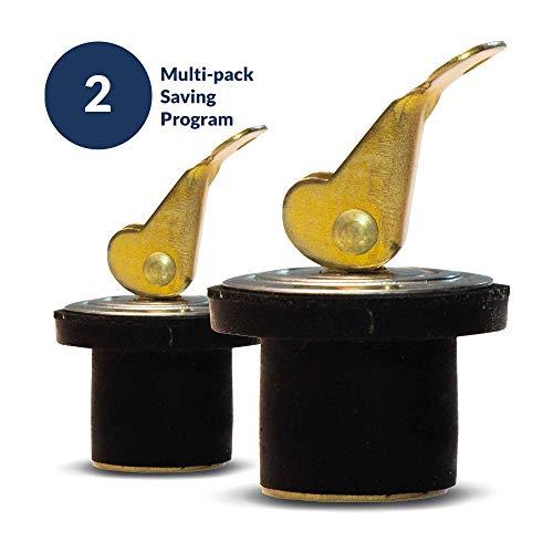 Five Oceans Marine Rubber Drain Plug, 3/4