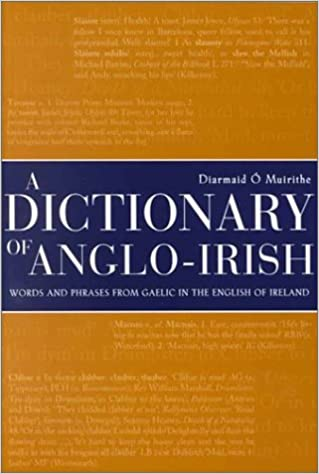 Book Dictionary of Anglo-Irish: Words and Phrases from Gaelic In the English of Ireland by Diarmaid O Muirithe (2000-07-14)