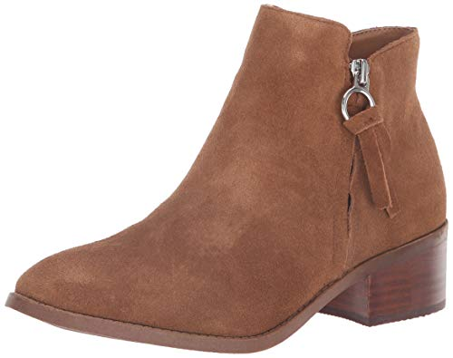 Steve Madden Women's Dacey Ankle Boot, Cognac Suede, 8.5 M US (Steve Madden Ankle Boots)