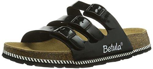 Betula Woogie, Damen Pantoletten, Schwarz (black patent), 39 EU (6.5 Damen UK)