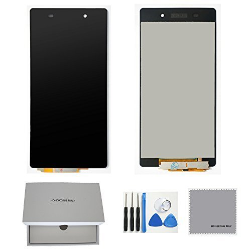 Full LCD Display Touch Screen Digitizer Assembly Replacement Part for Sony Xperia Z2 L50W D6503 D6502 D6543 (Sony Xperia Z2 Replacement Parts)