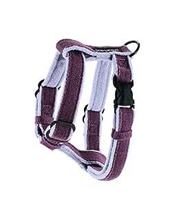 Planet Dog Cozy Hemp Adjustable Harness Purple, Small