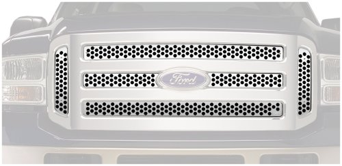 - Putco 84155 Punch Mirror Stainless Steel Grille