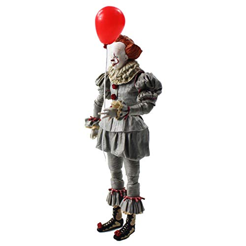 PLAYER-C 20Cm Scarry Movie Stephen Kings It Pennywise Joker Clown Halloween Day Cosplay Horror Dolls PVC Action Figure -