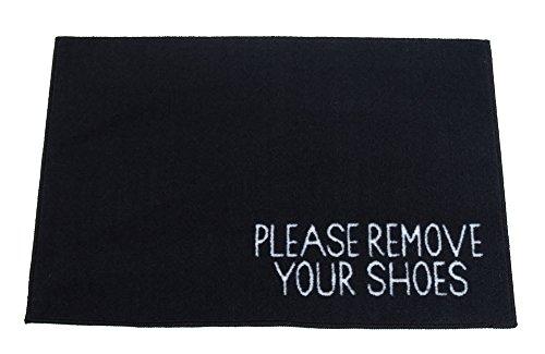 Please Remove Your Shoes Welcome Door Mat - 2x3 - ()