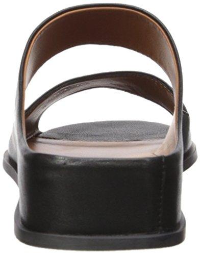 Women's Black Abbey Sandal Aquatalia Soft Nappa Flat dYz5qz