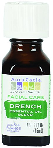 Facial Drench Essential Oil Blend Aura Cacia .5 fl oz Oil