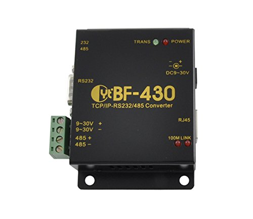 Ethernet Industrial Protocol (Industrial Serial RS232 Ethernet & RS485 Converter - BF-430)