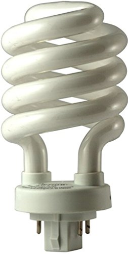 EiKO 05252 Model SP26/27-4P Compact Fluorescent Spiral Light Bulb, 26 Watts, GX24q-3 Base, T-4 Bulb, 4.72
