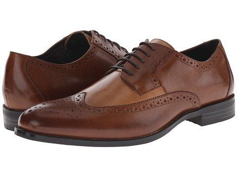 (ステーシーアダムス)Stacy Adams メンズオックスフォードビジネスシューズ靴 Garrison [並行輸入品] B071CF33MP 32.0 cm D - M Cognac/Taupe Cognac/Taupe 32.0 cm D - M